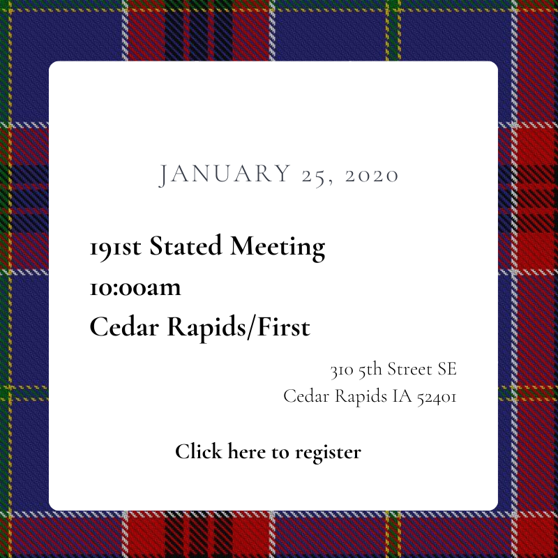 Register for the 191st Stated Meeting