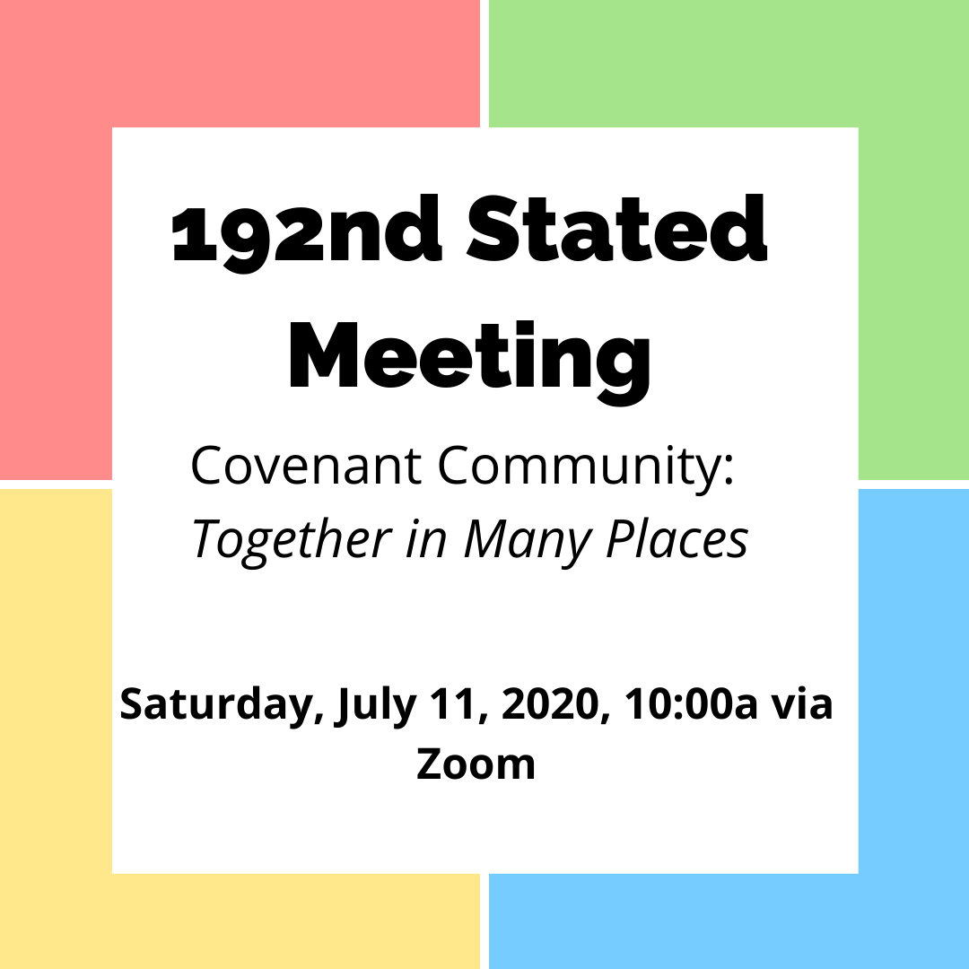 192nd Stated Meeting Information Page