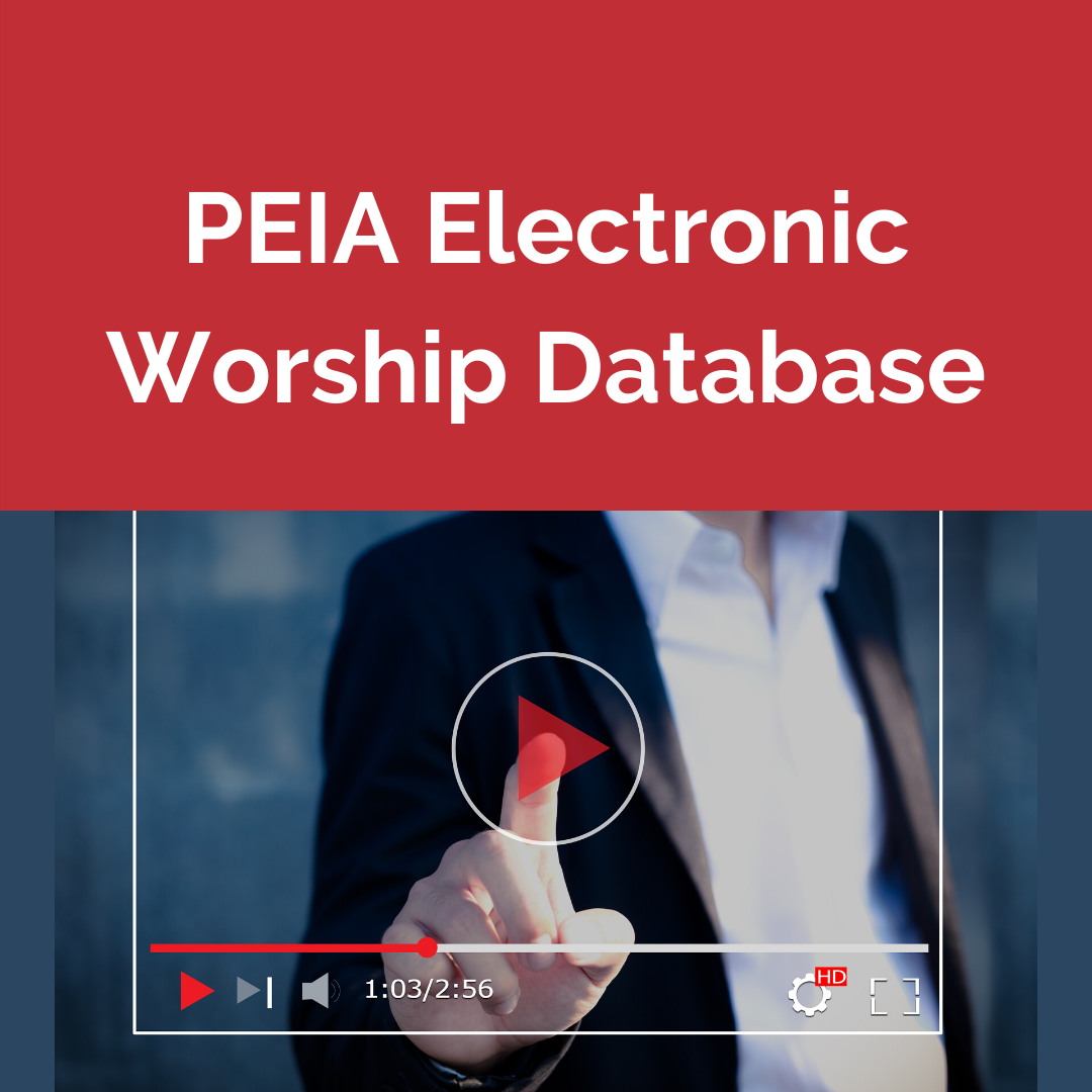 Electronic Worship Opportunities throughout the Presbytery
