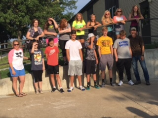 Youth Leaving for Triennium