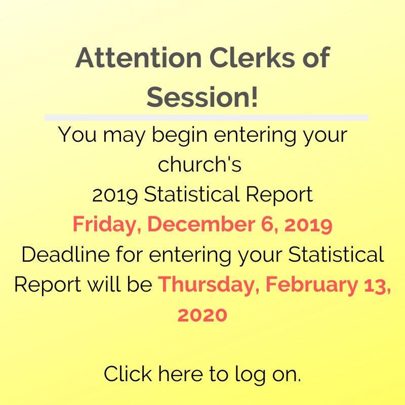 2019 Statistical Report